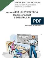 Didactica universitara 1