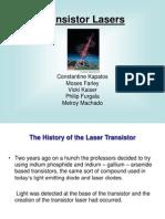 Transistor Laser