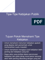 Tipe Tipe Kebijakan Publik 2 Copy 1