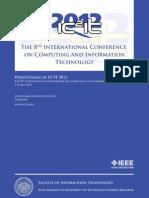Proceedings of IC2IT2012