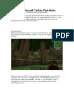 Technic Pack Guide (v.0.31)