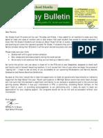 HS Friday Bulletin 05-11