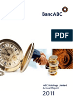 ABCH Annual Report Dec 2011 Final