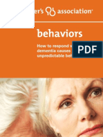 Alzheimer Behaviour
