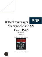 Ritterkreuzträger of the Wehrmacht and SS 1939-1945 Vol II