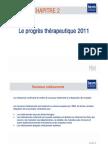 Progres therapeutique 2011