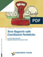 Terzo Rapporto sulle Conciliazioni Paritetiche