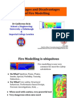 Advantages and Disadvantages of Fire Modelling (Chief Fire Officers Conference)