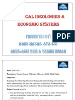 Session 3 Ideologies & Economic Systems