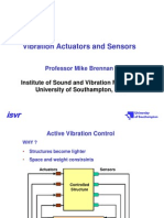 Vibration Actuators and Sensors
