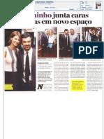 Jornal de Notícias - Luís Buchinho junta caras conhecidas em novo espaço