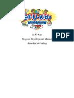 Program Development Manual Draft 2