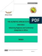 AU NEPAD African Action Plan 2010 2015