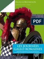 Affiche officelle Journées gallo-romaines 2012