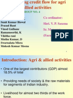 Agriculture and Allied Activities