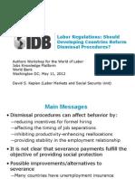 Presentation Kaplan Authors Workshop for the World of Labor Jobs Knowledge Platform