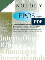 Consenso Europeo polipos 2007