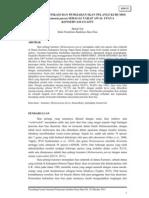 Studi Domestikasi Dan Pemijahan Ikan Pelangi Kurumoi (Melanotaenia Parva)