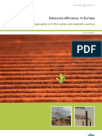 05 2011 Resource Efficiency in Europe