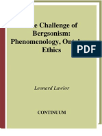 Leonard Lawlor - The Challenge of Bergsonism