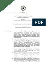 UU No.19 Tahun 2008 Tentang SBSN
