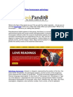 Vedic Horoscope, Janam kundali, Match making kundli