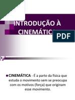 Introducao a Cinematica....