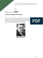 Miroslav Prokopijević - DŽEJMS BJUKENEN ILI KAKO JE JAVNI IZBOR POSTAO NAUKA