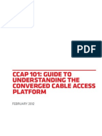 Understanding the Converged Cable Access Platform1