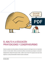 Antonio Viñao - Privatizaciones y conservadurismo