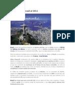 Economía de Brasil al 2011