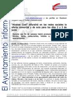 DESARROLLO ECONÓMICO Alcalow Cost (redes sociales)