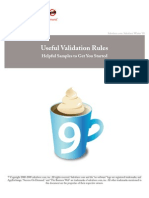 Sales Force Useful Validation Formulas