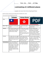 Taiwan Facts Search