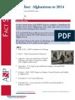 Factsheet - Afghanistan Timeline to 2014 May 2012 Version