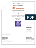 "Customer Satisfaction Survey- Internet Banking ""Bank of Baroda"" by- Amit Dubey"