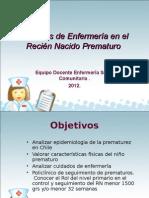 15 Cuidados de Enfermeria en La Atencion Del Nino Prematuro