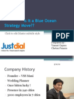 Just Dial - Is It a Blue Ocean move or not
