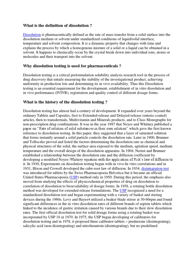 what is the definition of dissolution | dissolution (chemistry