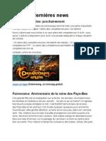 Jeux gratuit et en ligne