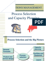 Process Selection and Capacity Planning