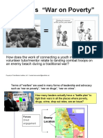 Planning Cycle -  War on Poverty