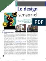 Le Design Sensoriel