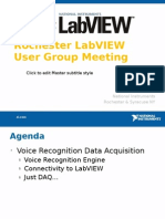Voice Recognition DAQ UGM