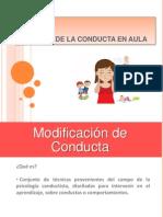 Taller Manejo Conducta