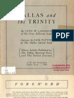 Dallas and the Trinity 1933