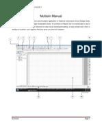 Manual for Multisim