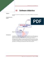 L 10 Software didáctico