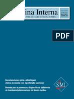 Sociedade Portuguesa MedicinaI Recomendacoes Normas Tromboembolismo