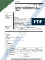 Abnt - Nbr 12607 Sb 120 - Simbologia Para Fluxogramas de Engenharia Utilizados N